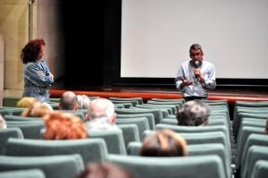Gonzalo Sanz presenta el ciclo Ventana Clásica. FOTO: Jorge Dueso