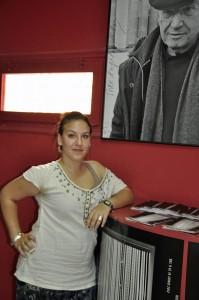 Noelia Rodriguez, jurado de la Juventud