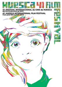 Cartel de la 41ª edición del Festival de Cine de Huesca (2013) Diseño: José Luis Cano
