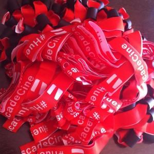Las pulseras se repartirán desde el 9 de junio en el camión/punto de información de la Plaza Navarra