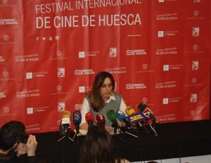 Azucena Garanto, directora del Festival Internacional de Cine de Huesca