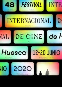 Cartel de la 48 edición del Festival Internacional de Cine de Huesca