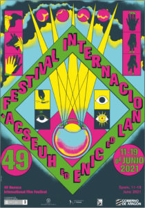 El cartel oficial de la 49 edición está diseñado por Cristina Daura