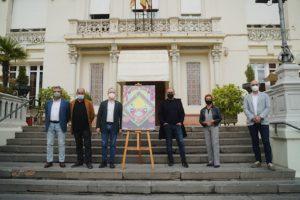Instituciones asistentes a la presentación del 49 Festival Internacional de Cine de Huesca (Foto-Ana Escario)